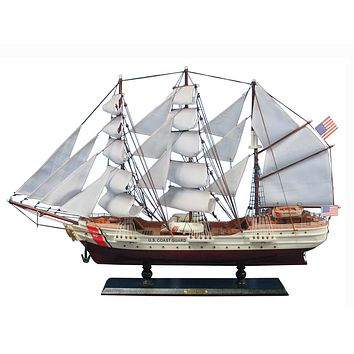 Wooden United States Coast Guard USCG Eagle Model Ship 32""