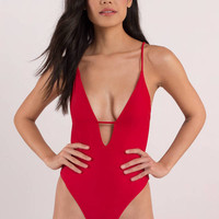 Catch Your Eye Plunging Monokini