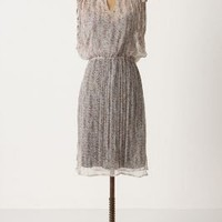 Speckled Grid Dress