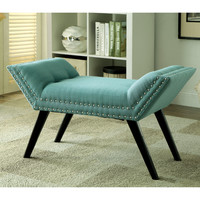 Furniture of America Dawne Modern Angled Bench | Overstock.com Shopping - The Best Deals on Benches