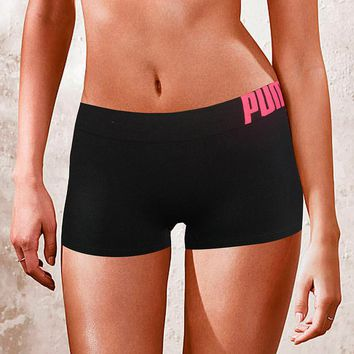PUMA Fashion Print Exercise Fitness Gym Yoga Running Short Leggings