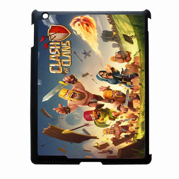 clash of clans game cover FOR IPAD 2/3/4 CASE *02*