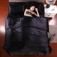 Home Textile King size bed set bedclothes duvet cover flat sheet pillowcases