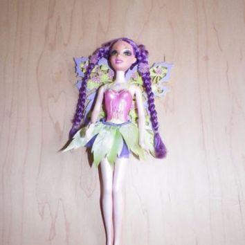 Barbie Fairytopia Magic of the Rainbow Glee Doll Mattel Used Good Condition