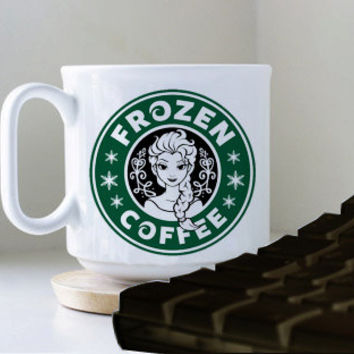STARBUCK FROZEN COFFEE mug heppy mug coffee, mug tea, size 8,2 x 9,5 cm.