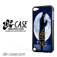 Once Upon A Time Captain Hook Believe DEAL-8180 Apple Phonecase Cover For Ipod Touch 5