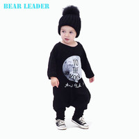 Cotton Baby Boys Clothing Set Baby Rompers Clothes One Piece Jumpsuit TO THE MOON Cartoon