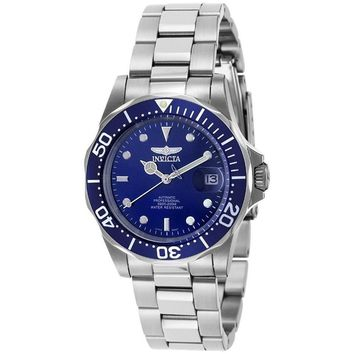 Invicta Men's 9094 Pro Diver Automatic 3 Hand Blue Dial Watch