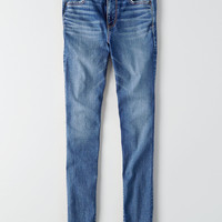 AEO Denim X Hi-Rise Jegging, Cobalt Jewel