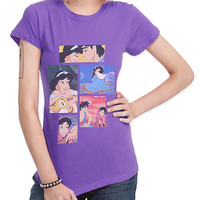 Disney Aladdin Collage Girls T-Shirt