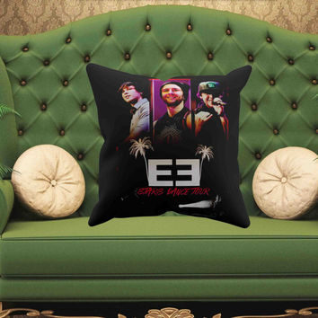 "Emblem3 Band Throw Pillow Case Cover one side and two side size 16"" x 16"" , 18"" x 18"", 20"" x 20"""