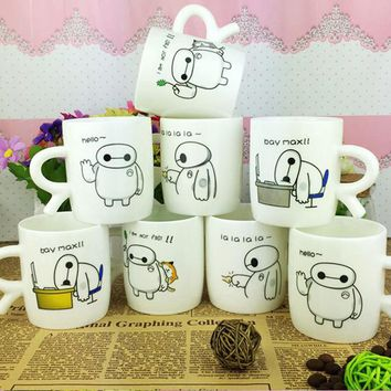 Cartoon Baymax Ceramic Coffee Mug  Tea Cup