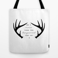 Sugar we're going down Tote Bag Promoters