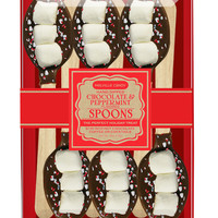 Peppermint & Chocolate Dipped Spoons Gift Set