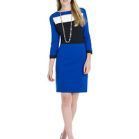 Women's Apparel | New Arrivals | Color-Block Dress | Lord and Taylor