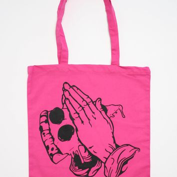 PIZZA PRAYER TOTE