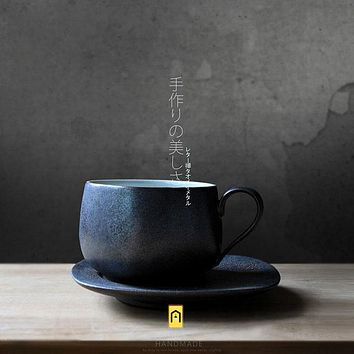 Japanese Artist Created 100% Handmade Coffee or Tea Mug - Japan Simple Style High Quality Limited Quantity Cups
