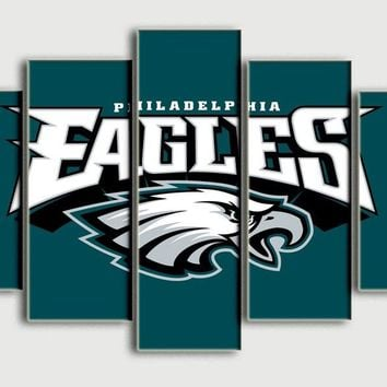 Painting Philadelphia Eagles Top selling Living room decorate wall art oil pictures printed on canvas Bedroom backdrop
