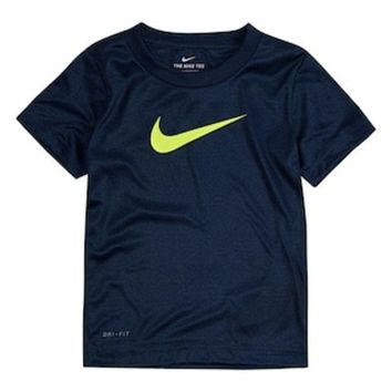 Toddler Boy Nike Dri Fit Heathered Tee | Null