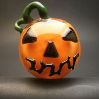 Jack O' Lantern Halloween Orange Pumpkin Pipe