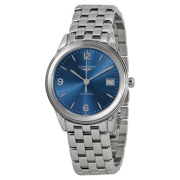 Longines Flagship Heritage Automatic Blue Dial Stainless Steel Mens Watch