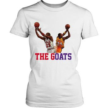 kobe tribute the goats womens shirt  number 1