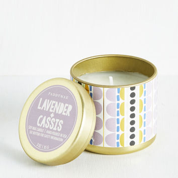 Scents and Sensibility Candle in Lavender | Mod Retro Vintage Bath | ModCloth.com