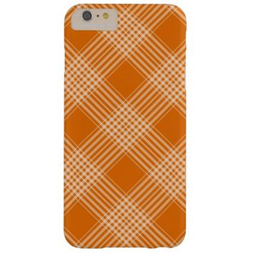 autumn plaid barely there iPhone 6 plus case