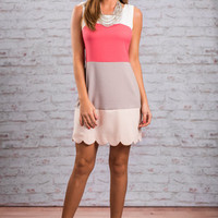 Ready For Anything Dress, Coral