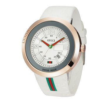 High Quality Gucci Ladies Fashion Casual Watches Wrist Watch - White
