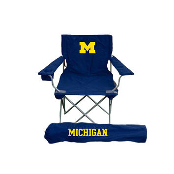 Michigan Wolverines NCAA Ultimate Adult Tailgate Chair