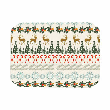 "Famenxt ""Christmas Vibes"" Holiday Pattern Place Mat"