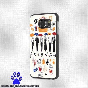 Friends TV Show collage for iphone 4/4s/5/5s/5c/6/6+, Samsung S3/S4/S5/S6, iPad 2/3/4/Air/Mini, iPod 4/5, Samsung Note 3/4 Case * NP*