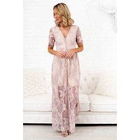 Sweet Life Lace Maxi (Lavender)