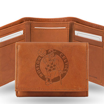 BOSTON CELTICS EMBOSSED TRIFOLD