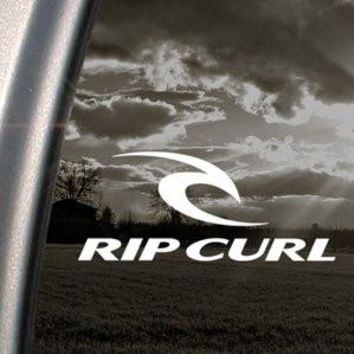 Rip Curl Decal Surf Skate Board Truck Window Sticker