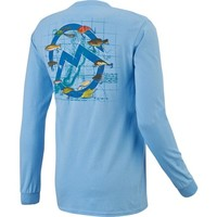 Magellan Outdoors™ Men's Mountain Lures Long Sleeve T-shirt