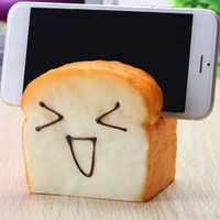 anti-stress Soft Squishy Super Slow Rising Scented Toast Bread Toy Bread Kid Gift Phone Seat Pen Joke squish Toys squishies ZJD