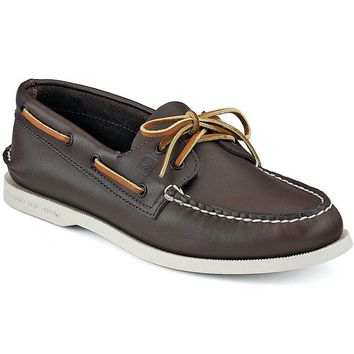 Men's Authentic Original Boat Shoe in Classic Brown by Sperry