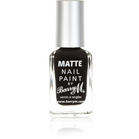 River Island Womens Espresso black Barry M matte nail polish