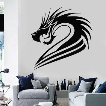 Wall Stickers Vinyl Decal Fantasy Mythical Chinese Dragon Decor Mural Unique Gift (ig038)