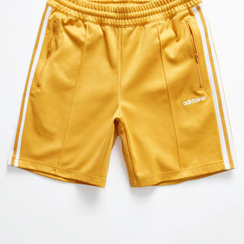adidas Beckenbauer Gold Drawstring Active Shorts at PacSun.com