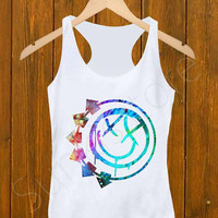 Tank Top _ blink 182 logo Size S,M,L,XL,XXL For Men's And Girl