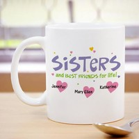 Sister Best Friend Mug
