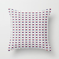 flag of south korea-korea,asia, 서울특별시,부산광역시, 한국,seoul Throw Pillow by oldking