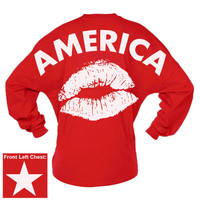 America Kiss Game Day Jersey