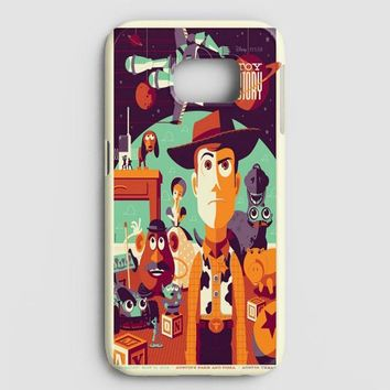 Toys Story Woody Film Art Disney Poster Samsung Galaxy Note 8 Case