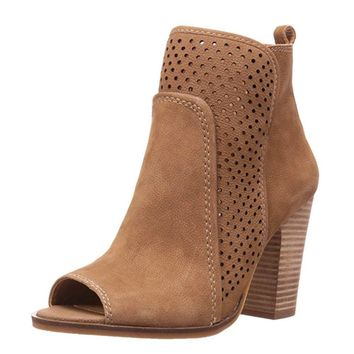 Lucky Brand Lakmeh Sesame Ankle Booties
