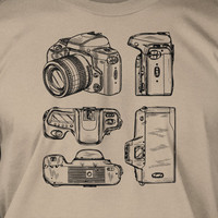 Camera Views Photography Photographer Gift Tshirt T-Shirt Tee Shirt Mens Womens Ladies Youth Kids Geek Funny