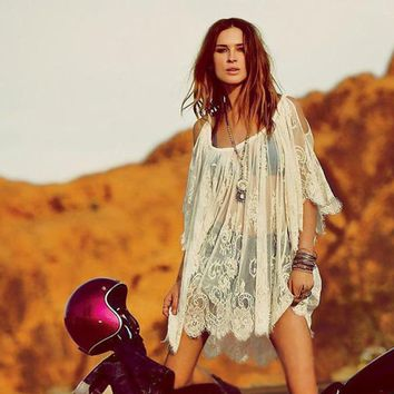 """Frollic Everywhere"" Bohemian Dress"